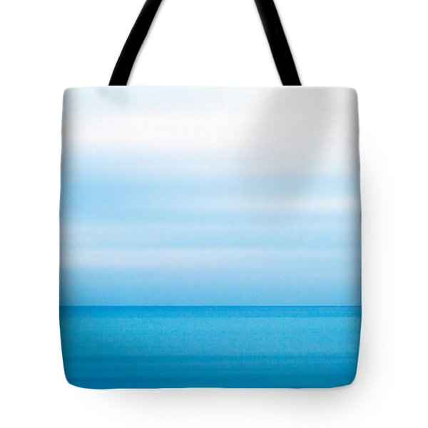 Blue Mediterranean Tote Bag by Stelios Kleanthous