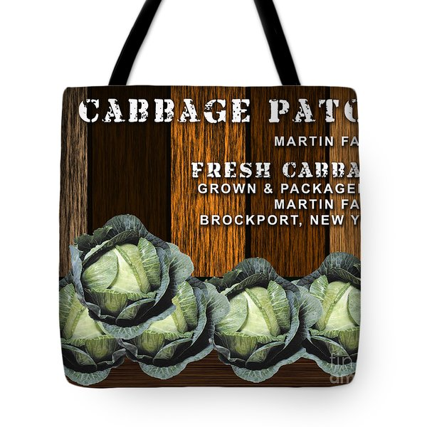 Cabbage Farm Tote Bag by Marvin Blaine
