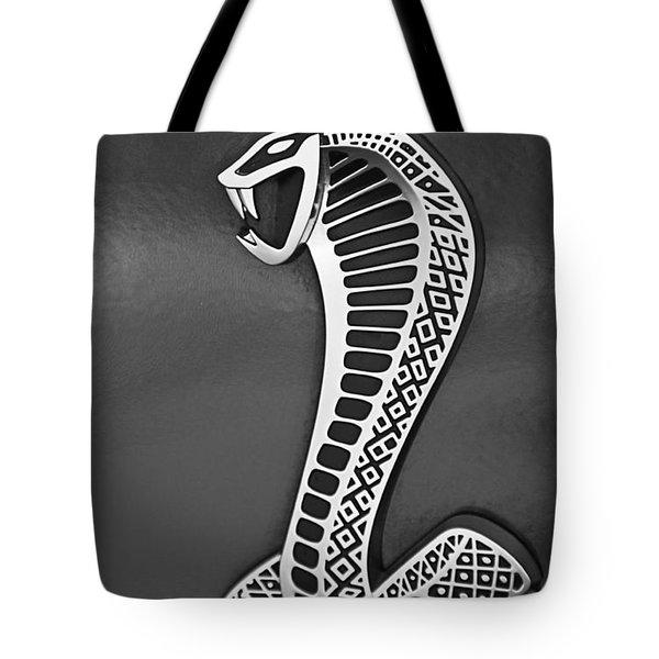 Cobra Emblem Tote Bag by Jill Reger