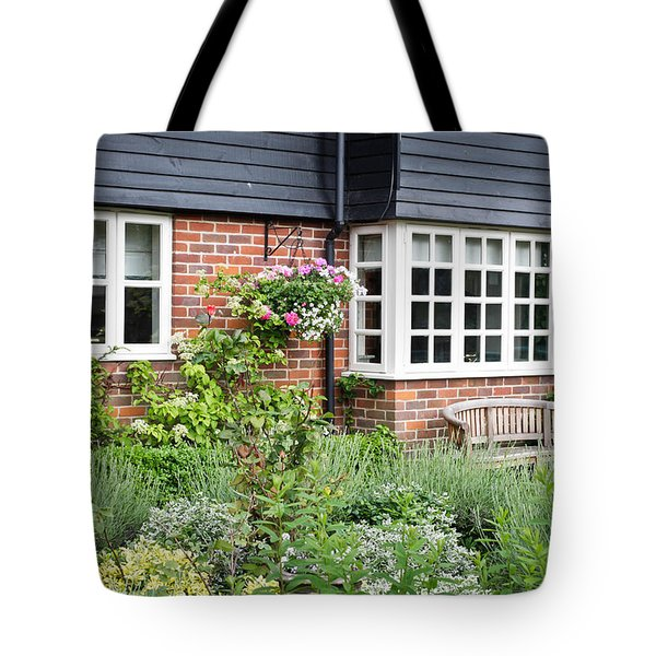 Cottage Garden Tote Bag by Tom Gowanlock
