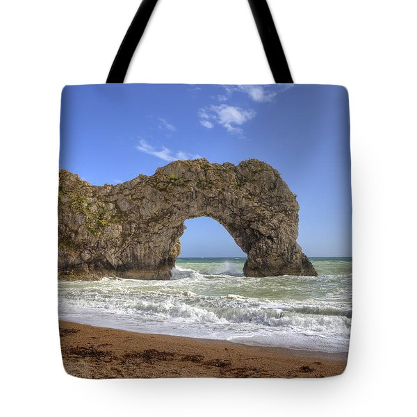 Durdle Door Tote Bag by Joana Kruse
