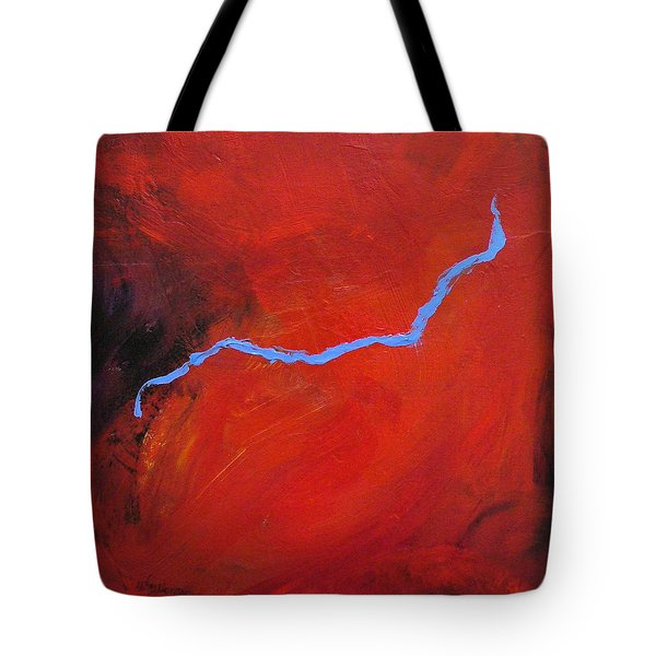 Torso Fire And Ice Tote Bag by Mary Sullivan