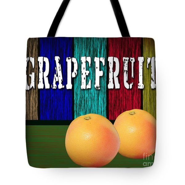 Grapefruit Tote Bag by Marvin Blaine