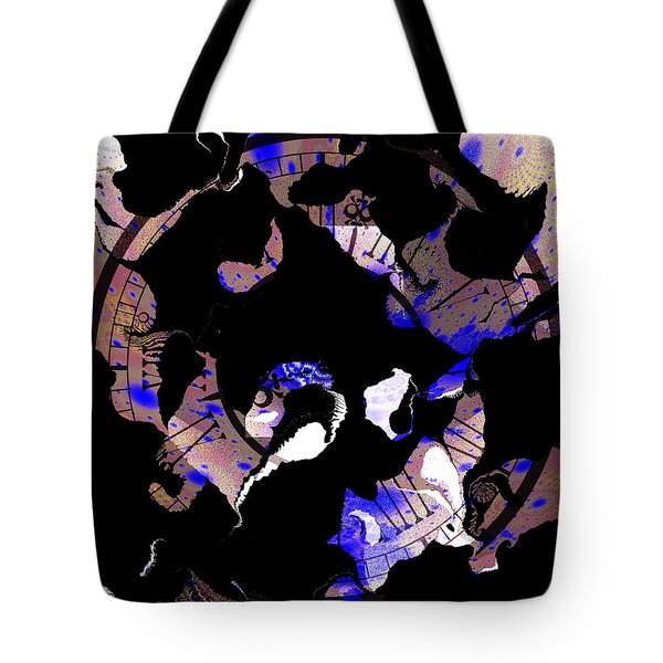 3 Hours Ahead Still Losing Time Tote Bag by Elizabeth McTaggart