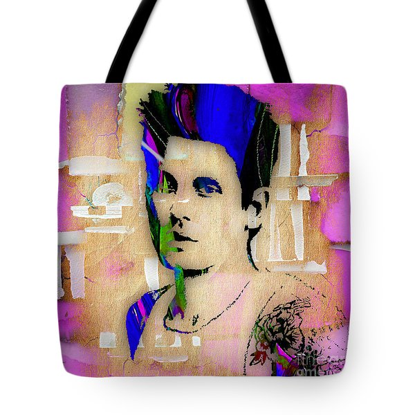 John Mayer Collection Tote Bag by Marvin Blaine