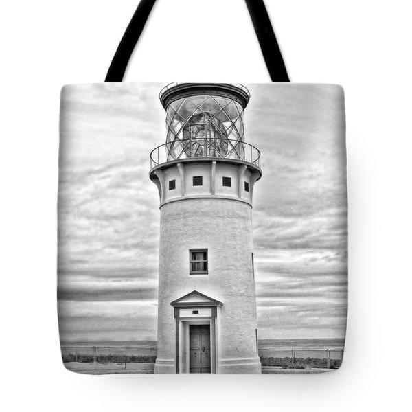 Kilauea Lighthouse Tote Bag by Scott Pellegrin