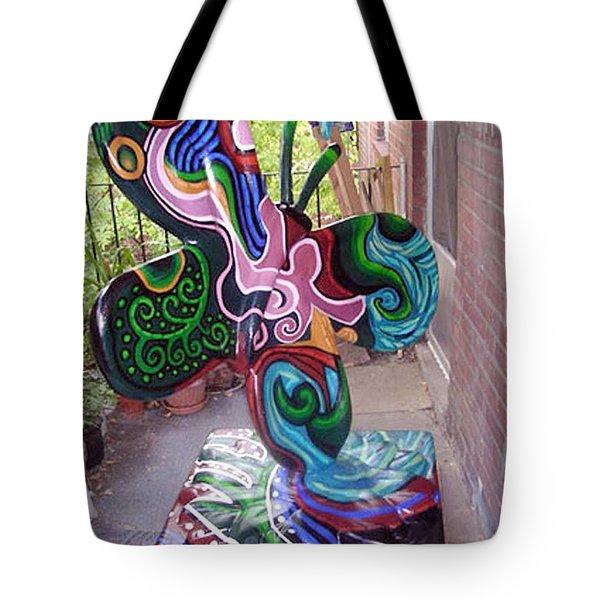 Le Mileau Mode Tote Bag by Genevieve Esson