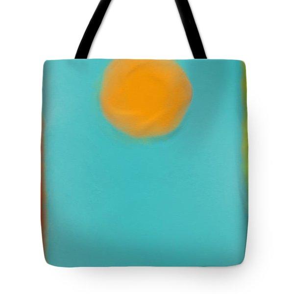 Lily Pond Tote Bag by Anita Lewis