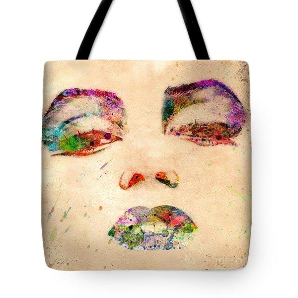 Marilyn Monroe Tote Bag by Mark Ashkenazi