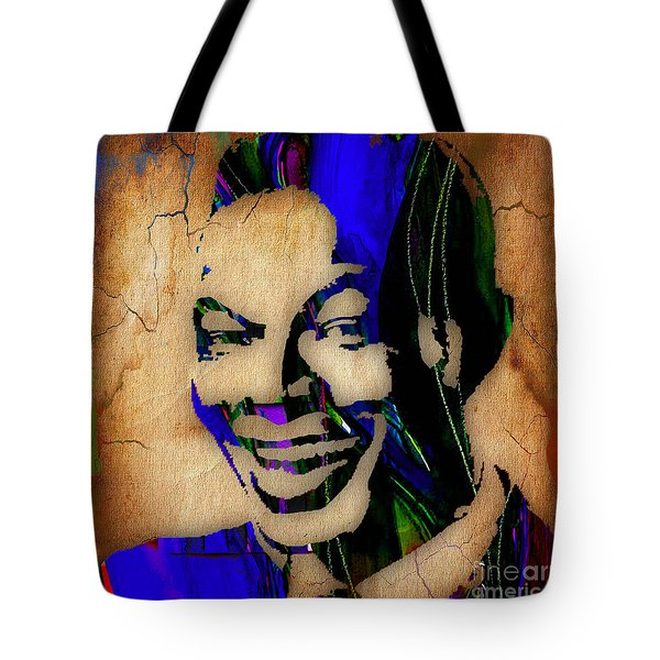Nat King Cole Collection Tote Bag by Marvin Blaine
