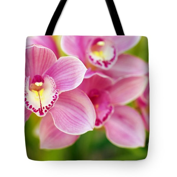 Orchids Tote Bag by Carlos Caetano
