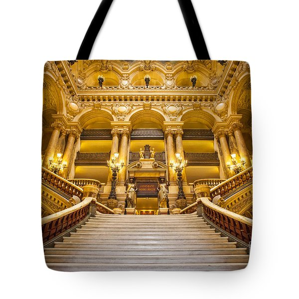 Palais Garnier Tote Bag by Brian Jannsen