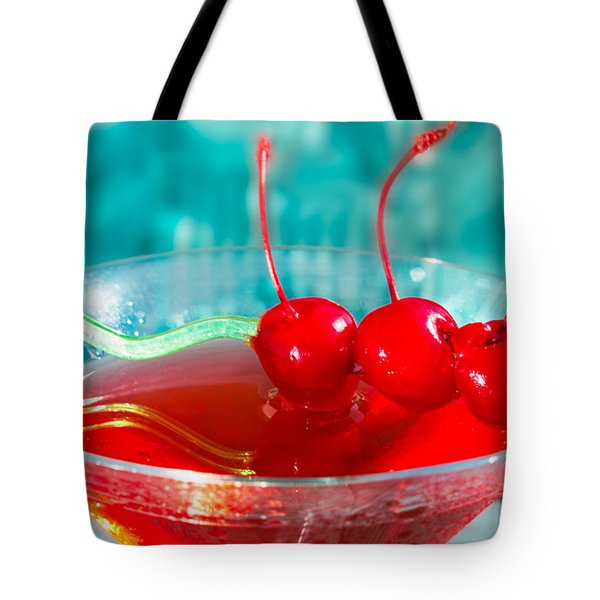 Shirley Temple Drink Tote Bag by Iris Richardson