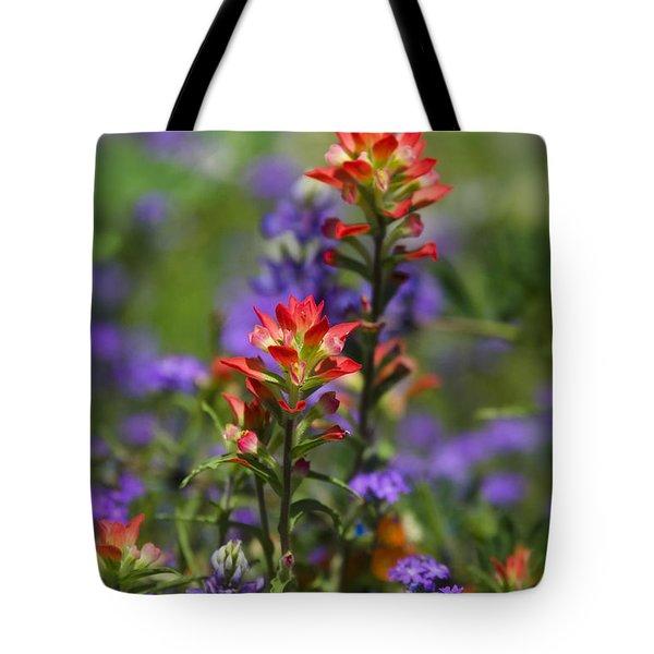 Spring Flowers Tote Bag by Saija  Lehtonen