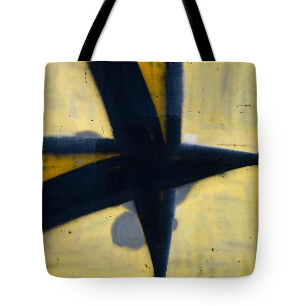 Train Art Abstract Tote Bag by Carol Leigh