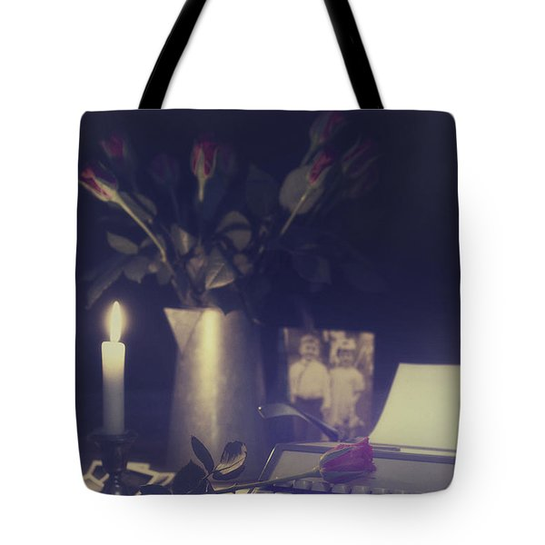 Vintage Typewriter Tote Bag by Amanda And Christopher Elwell