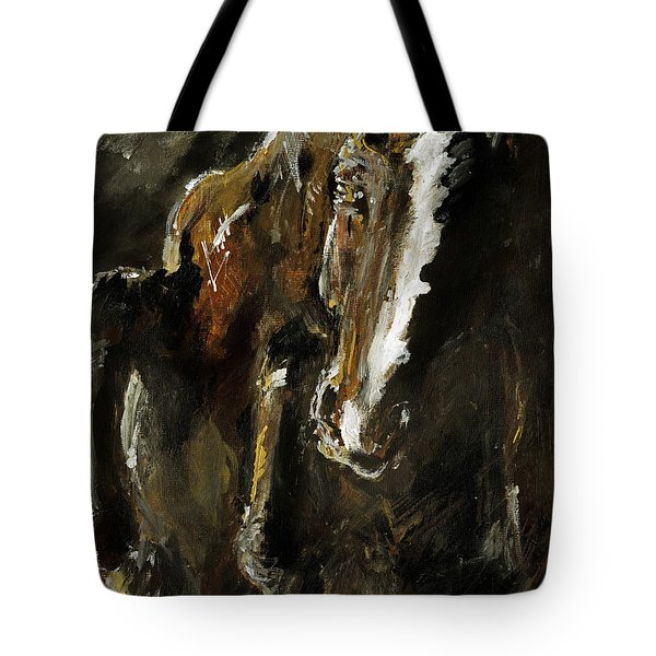 Wild Heart Tote Bag by Angel  Tarantella