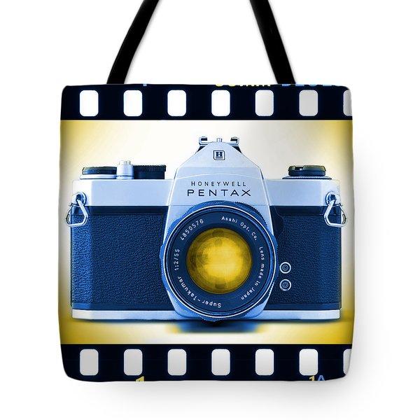 35mm BLUES Pentax Spotmatic Tote Bag by Mike McGlothlen