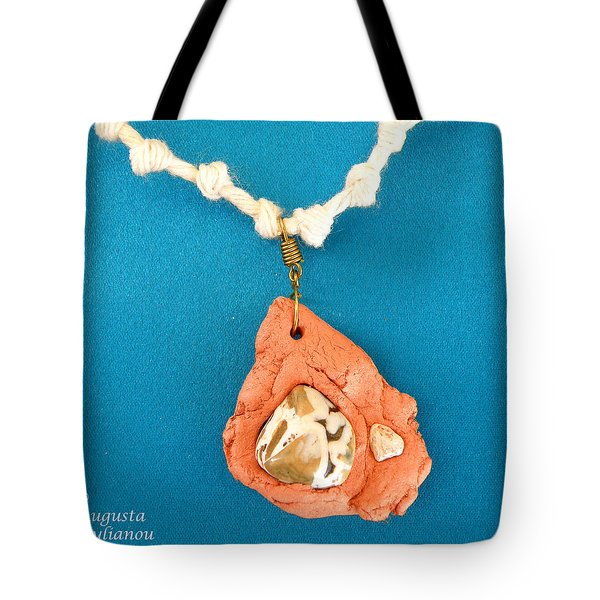 Aphrodite Gamelioi Necklace Tote Bag by Augusta Stylianou