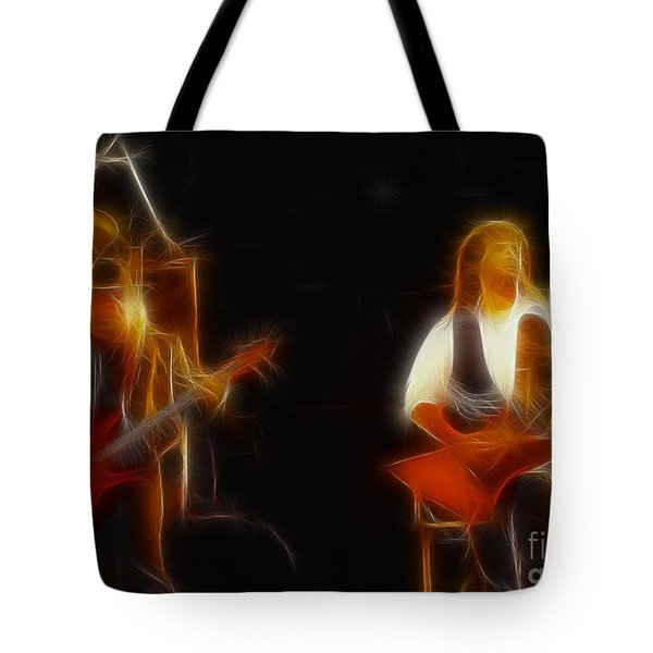 38 Special-94-larry N Jeff-gb20a-fractal Tote Bag by Gary Gingrich Galleries