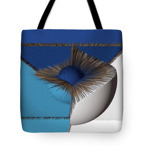 3d Abstract 19 Tote Bag by Angelina Vick
