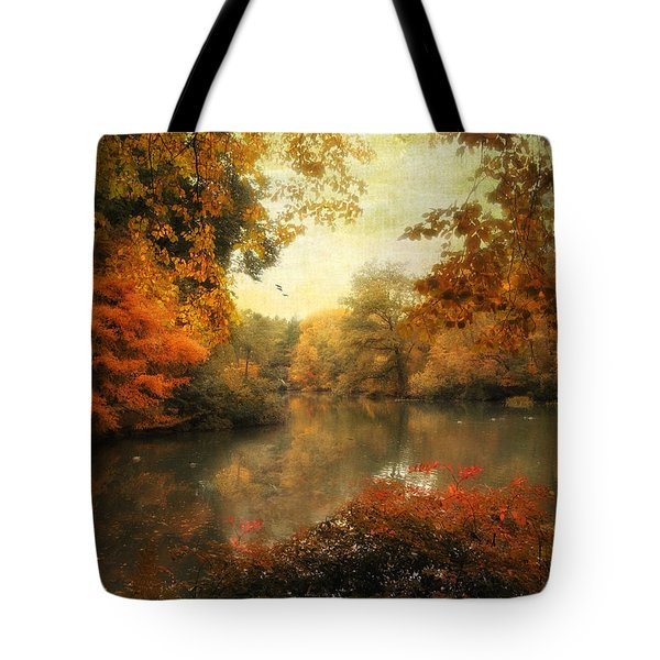 Autumn Afternoon  Tote Bag by Jessica Jenney