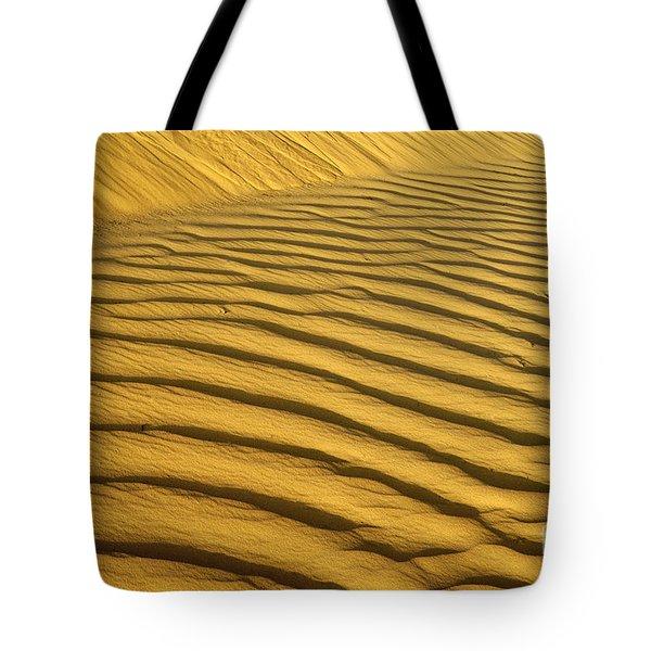 Desert Sand Dune Tote Bag by Ezra Zahor