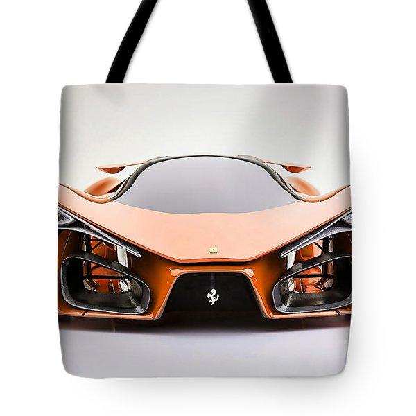 Ferrari F80 Tote Bag by Marvin Blaine