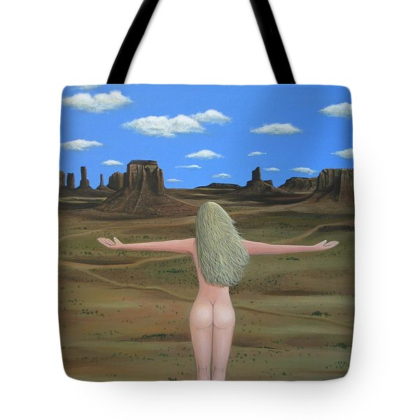 Freedom Tote Bag by Lance Headlee