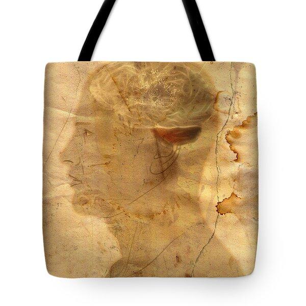 Gears In The Head Tote Bag by Michal Boubin