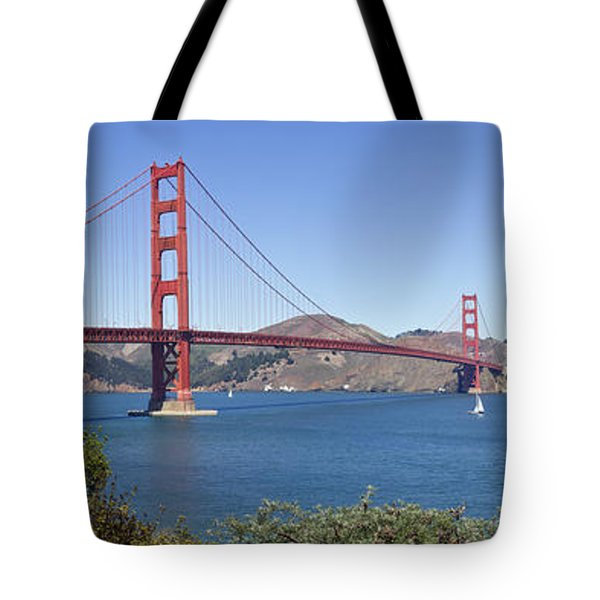 Golden Gate Bridge Tote Bag by Melanie Viola