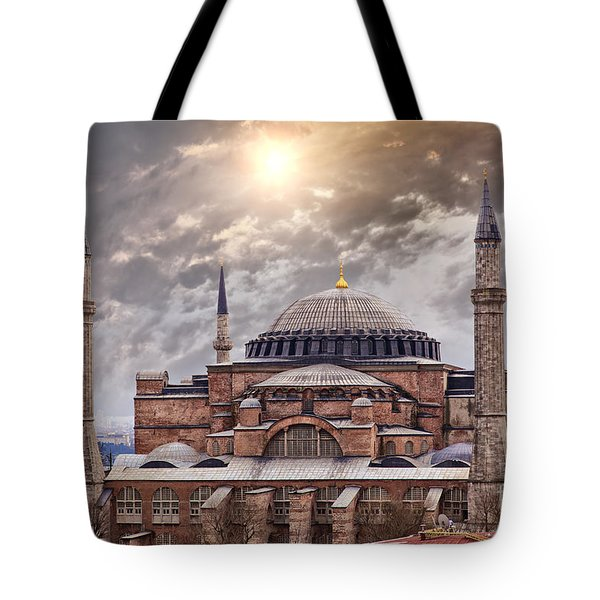 Hagia Sophia Istanbul Tote Bag by Sophie McAulay