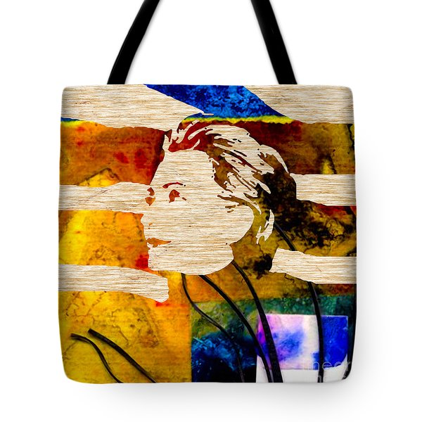 Hillary Clinton Tote Bag by Marvin Blaine