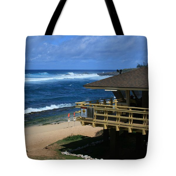 Hookipa Beach Maui North Shore Hawaii Tote Bag by Sharon Mau
