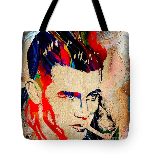 James Dean Collection Tote Bag by Marvin Blaine