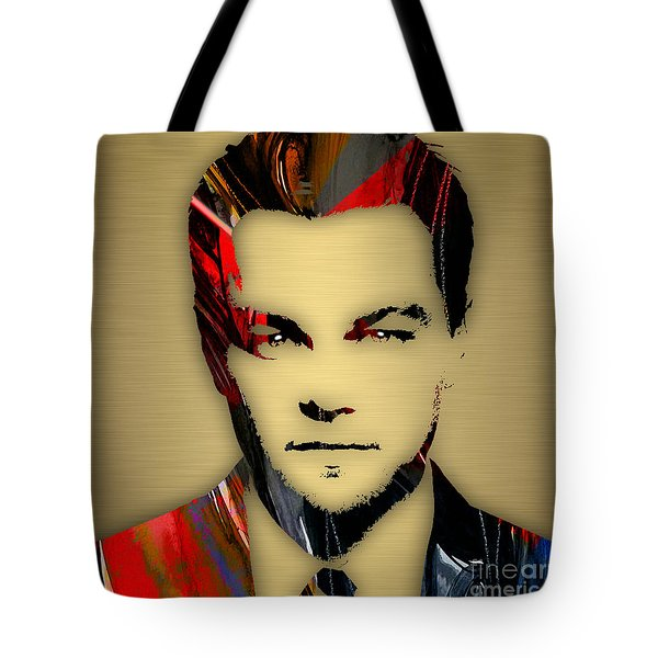 Leonardo Dicaprio Collection Tote Bag by Marvin Blaine