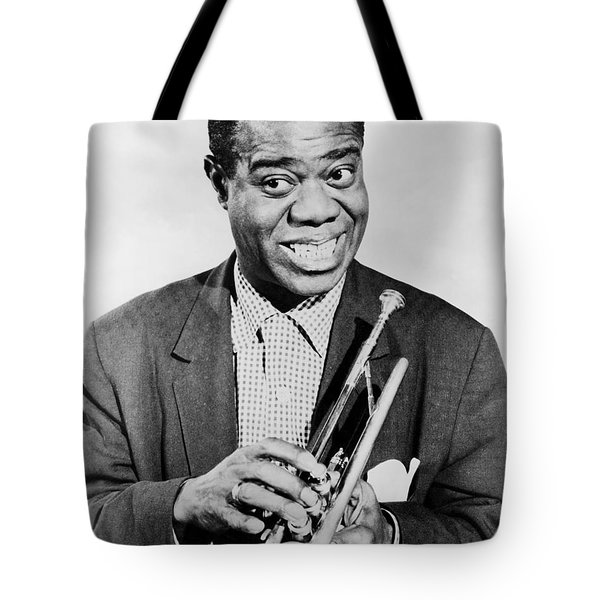 Louis Armstrong (1900-1971) Tote Bag by Granger