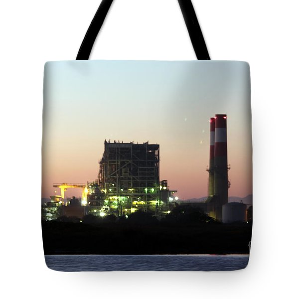 Power Station Tote Bag by Henrik Lehnerer