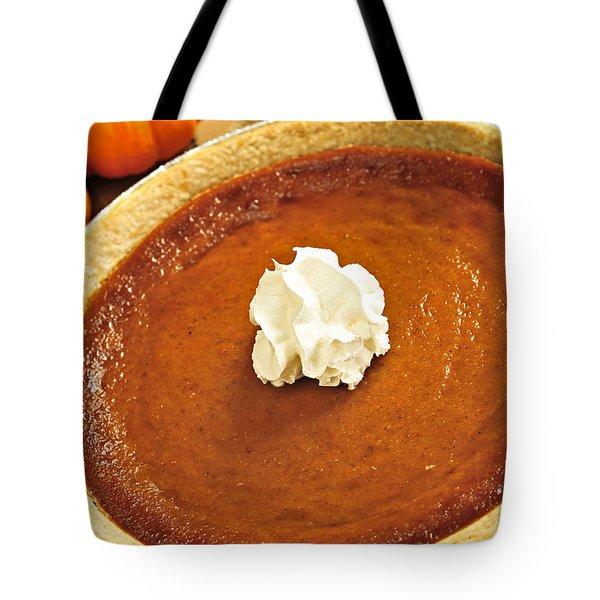 Pumpkin Pie Tote Bag by Elena Elisseeva