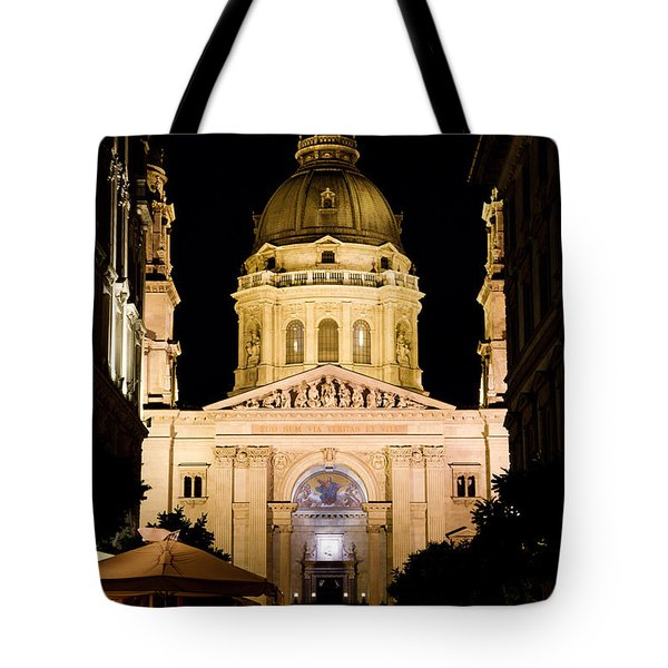 St. Stephen's Basilica In Budapest Tote Bag by Michal Bednarek