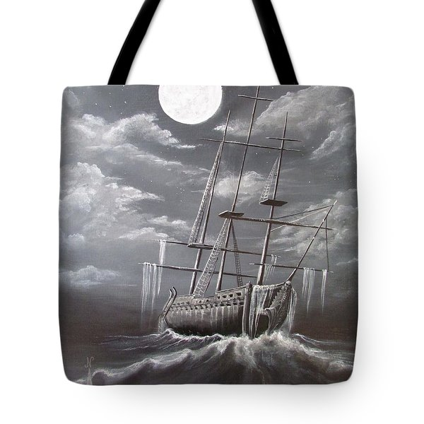 Storm Corrosion Tote Bag by Christine Cholowsky