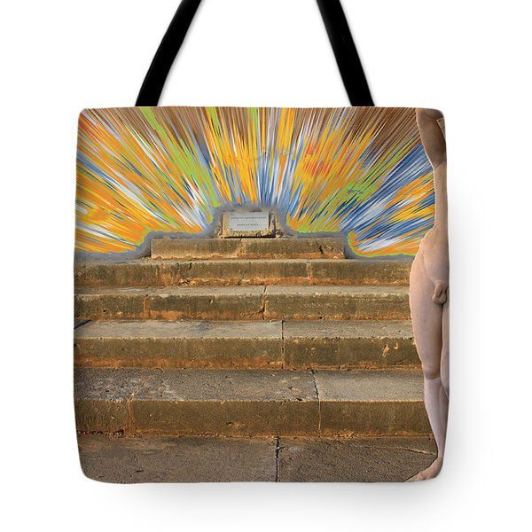 Temple Of Apollo  Tote Bag by Augusta Stylianou