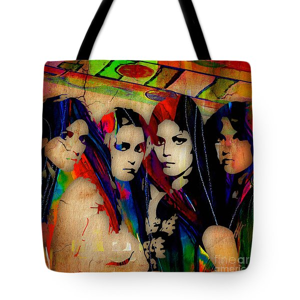 The Runaways Collection Tote Bag by Marvin Blaine