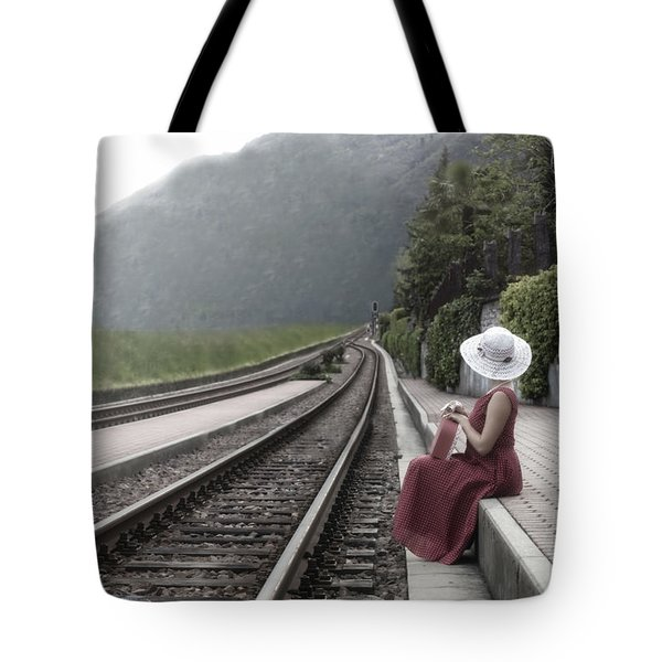 Waiting Tote Bag by Joana Kruse