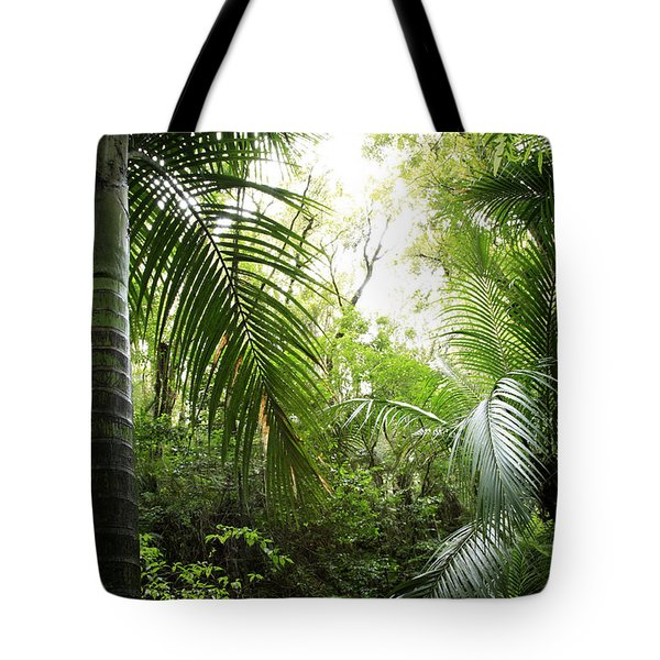 Jungle Tote Bag by Les Cunliffe
