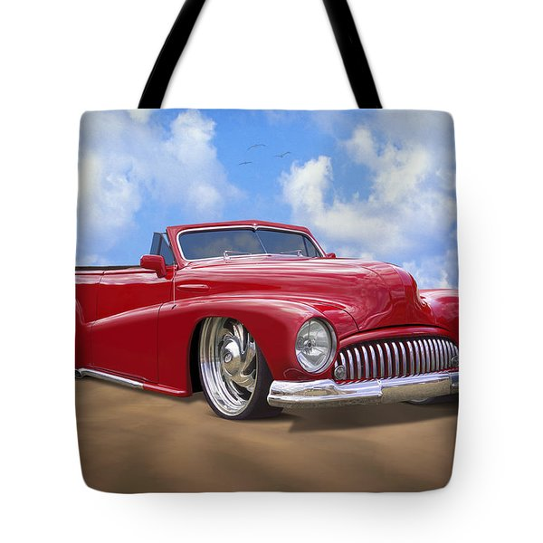 48 Buick Convertible Tote Bag by Mike McGlothlen