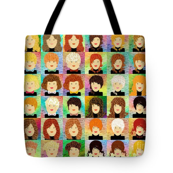 48 Porcelain Dolls Tote Bag by Andee Design