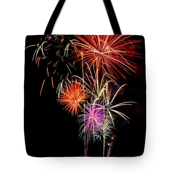 4th of July 2012 Tote Bag by Saija  Lehtonen