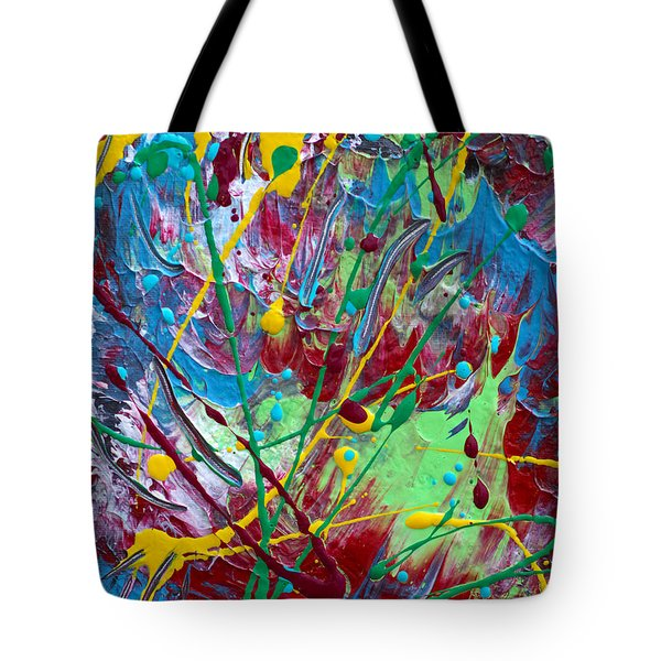 4th Of July Tote Bag by Donna Blackhall