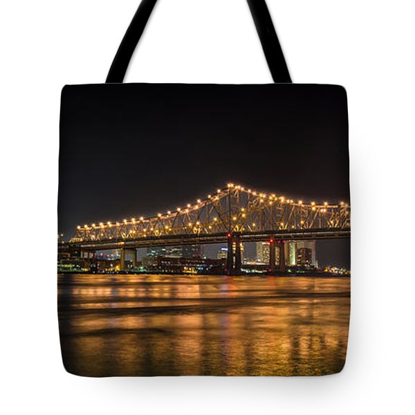 4th Of July Over The Big Easy Part Deaux Tote Bag by David Morefield